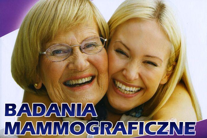 Ilustracja do informacji: Bezpłatne badania mammograficzne