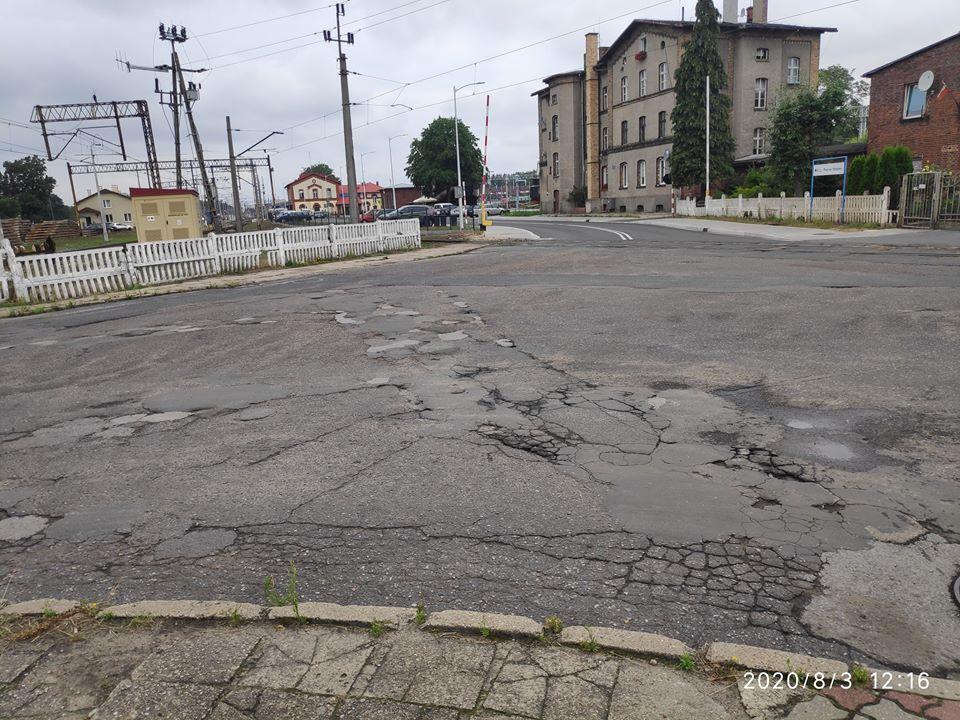 Ilustracja do informacji: Przejazd kolejowy na ulicy Dworcowej będzie remontowany!!
