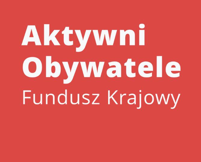 Ilustracja do informacji: Aktywni Obywatele – rusza kolejny konkurs dotacyjny dla organizacji społecznych